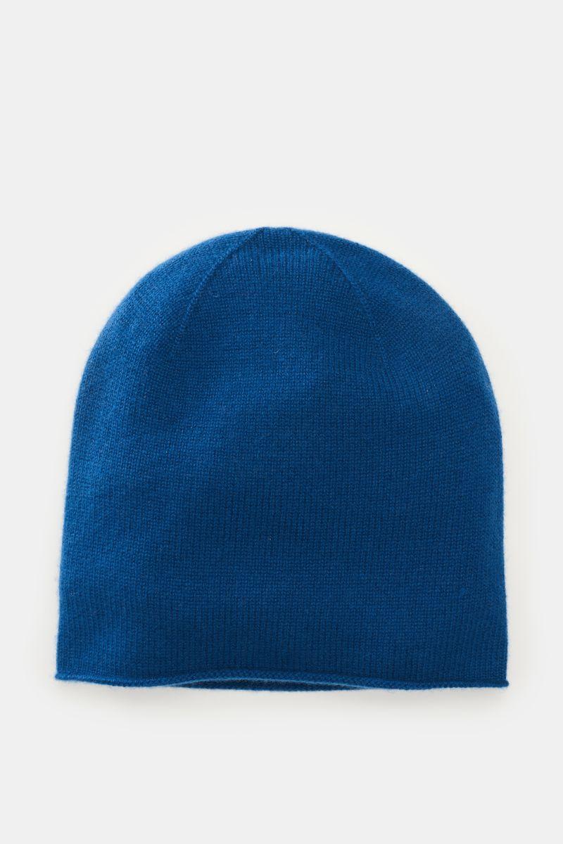 Cashmere Mütze blau