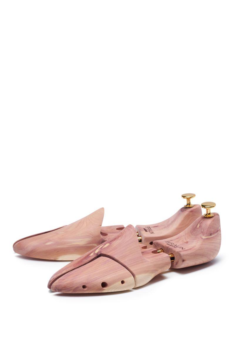 Zedernholz-Schuhspanner