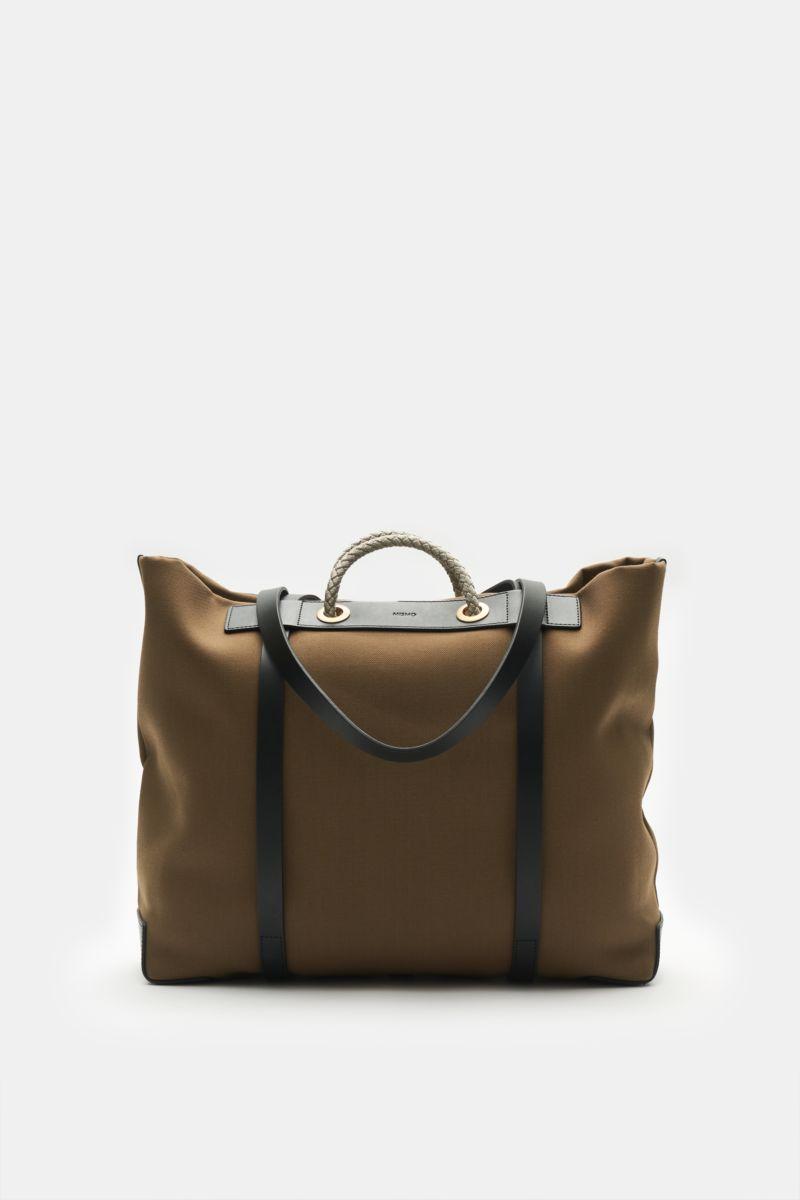 Tote Bag 'M/S Seaside' khaki/schwarz